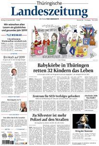 Thüringische Landeszeitung – 31. Dezember 2018