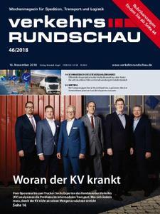 VerkehrsRundschau - 14. November 2018