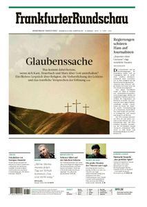 Frankfurter Rundschau Stadtausgabe - 18. April 2019