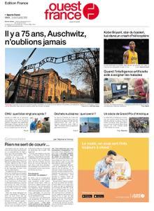 Ouest-France Édition France – 27 janvier 2020
