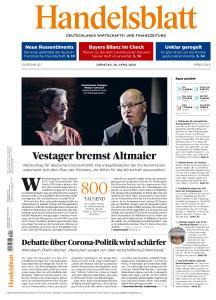 Handelsblatt - 28 April 2020