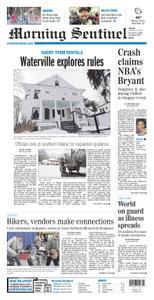 Morning Sentinel – January 27, 2020
