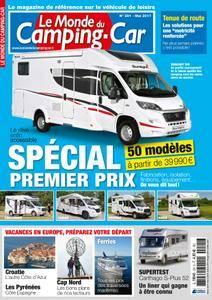 Le Monde du Camping-Car - mai 2017