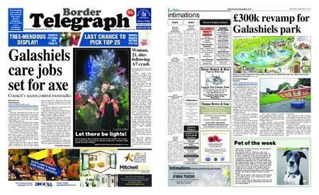 Border Telegraph – November 29, 2017