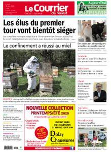 Le Courrier de l'Ouest Cholet – 18 mai 2020