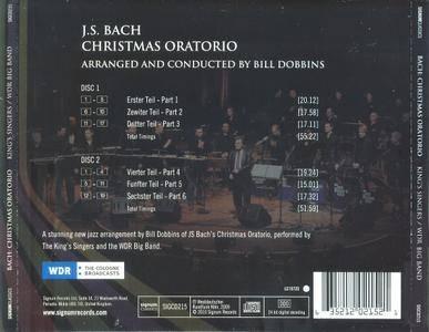 The King's Singers, The WDR Big Band, Bill Dobbins - J.S. Bach: Christmas Oratorio (2CD) (2010) (Repost)