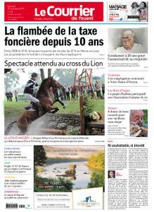 Le Courrier de l'Ouest Nord Anjou – 19 octobre 2019