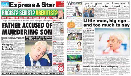 Express and Star City Edition – October 28, 2017