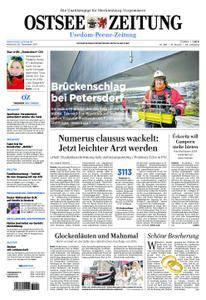Ostsee Zeitung Wolgast - 20. Dezember 2017