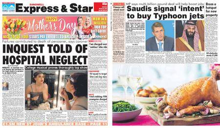 Express and Star Sandwell Edition – March 10, 2018