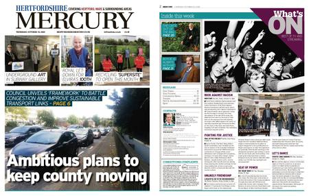 Hertfordshire Mercury – October 15, 2020