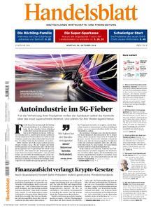 Handelsblatt - 29. Oktober 2018