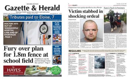 Gazette & Herald – July 22, 2021