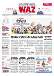 WAZ Westdeutsche Allgemeine Zeitung Oberhausen-Sterkrade - 13. Dezember 2018