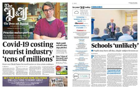 The Press and Journal Moray – June 15, 2020