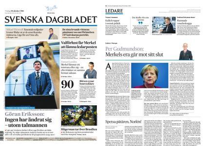 Svenska Dagbladet – 30 oktober 2018