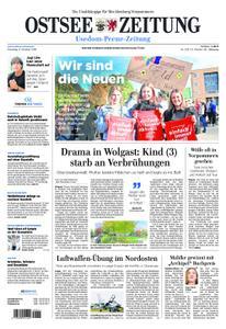 Ostsee Zeitung Wolgast - 09. Oktober 2018