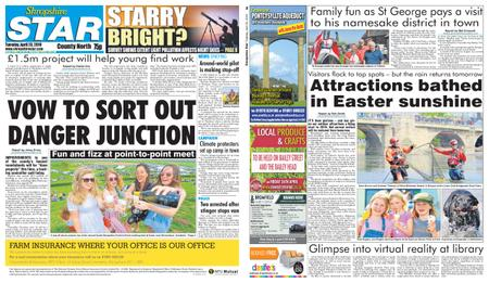 Shropshire Star North County Edition – April 23, 2019