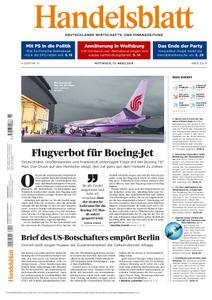 Handelsblatt - 13. März 2019