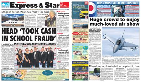 Express and Star Sandwell Edition – June 07, 2019