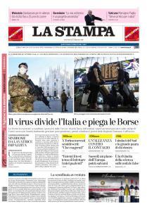 La Stampa Torino Provincia e Canavese - 25 Febbraio 2020