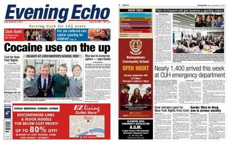 Evening Echo – September 15, 2017