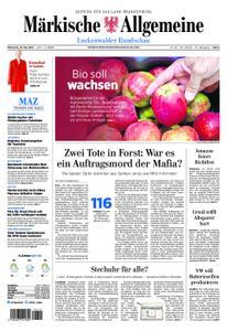 Märkische Allgemeine Luckenwalder Rundschau - 15. Mai 2019