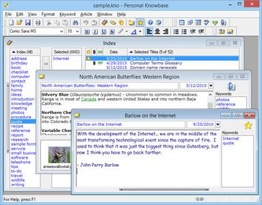 Personal Knowbase 4.1.2