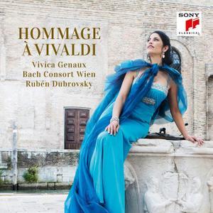Vivica Genaux, Ruben Dubrovsky, Bach Consort Wien, Wiener Kammerchor - Hommage a Vivaldi (2018)