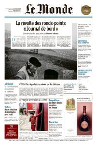 Le Monde du Dimanche 16 et Lundi 17 Décembre 2018