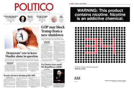 Politico – January 29, 2019