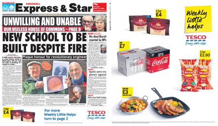 Express and Star Sandwell Edition – March 14, 2019