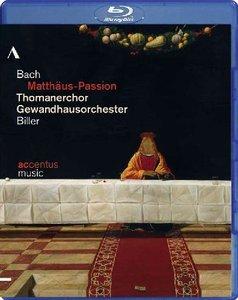Georg Christoph Biller, Gewandhausorchester Leipzig, Thomanerchor Leipzig - Bach: Matthaus-Passion (2012) [Blu-Ray]