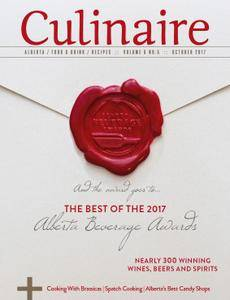 Culinaire Magazine - October 2017