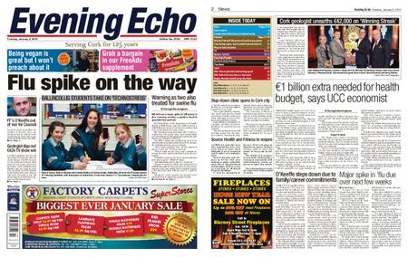 Evening Echo – January 08, 2019