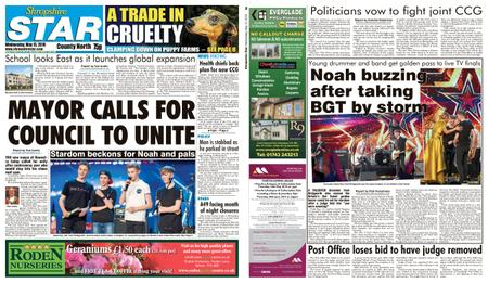 Shropshire Star North County Edition – May 15, 2019