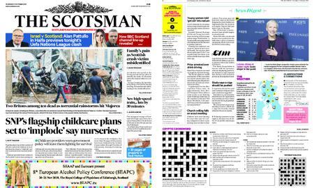 The Scotsman – October 11, 2018