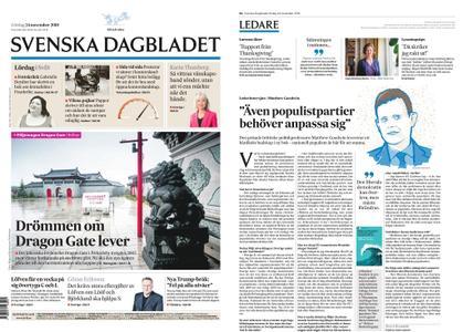Svenska Dagbladet – 24 november 2018