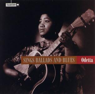 Odetta - Sings Ballads and Blues (1957) [Reissue 1996]