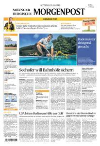 Solinger Morgenpost – 31. Juli 2019