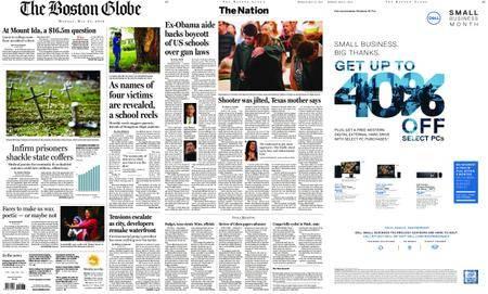 The Boston Globe – May 21, 2018