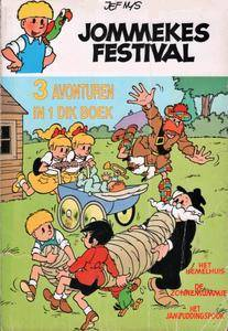 Jommeke - C04 - Jommekes Festival 1992 cbr