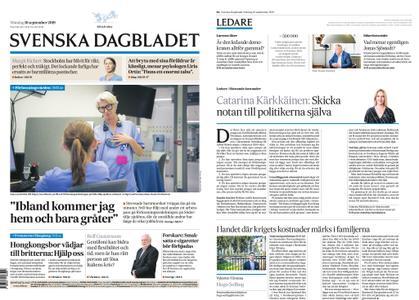 Svenska Dagbladet – 16 september 2019