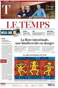 Le Temps - 26 octobre 2019