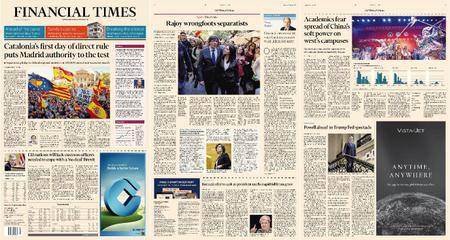 Financial Times Europe – 30 October 2017