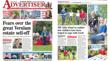 The Herts Advertiser – July 01, 2021