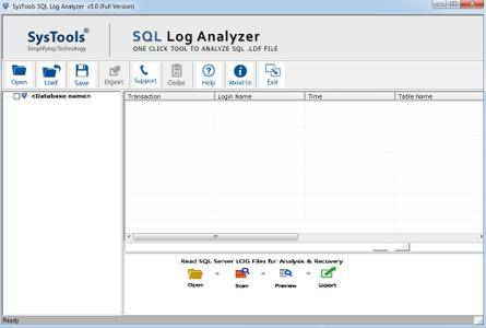 SysTools SQL Log Analyzer 5.0