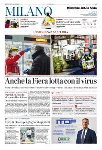 Corriere della Sera Milano – 25 marzo 2020