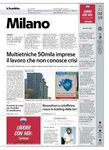 la Repubblica Milano - 25 Febbraio 2019