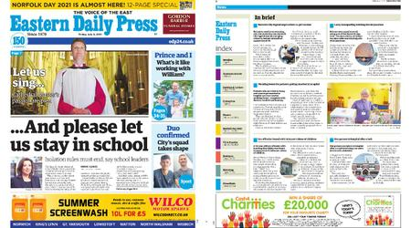 Eastern Daily Press – July 02, 2021